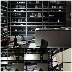 #CLEVER The central focus of this #designkitchen project is the large larder unit: this clever storage solution is particularly versatile and fills the room with its lively presence. #cucinadesign http://www.modulnova.com/project-project-13