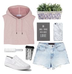 """""""Untitled #657"""" by keziakaligis on Polyvore featuring adidas, Alexander Wang, Steve Madden, The White Company, Uncommon, Andis and Dot & Bo"""