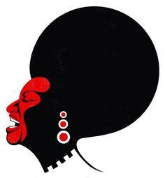 Celia Cruz, ilustración de Edel Rodríguez