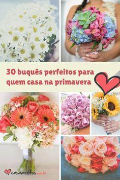 Você se casa na primavera? Então saiba que essa é a melhor época para encher seu casamento de flores! Encontre aqui as tendências do momento para triunfar na nova estação.