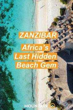 Zanzibar, aka Spice Island, is a tropical island 35km off the coast of #Tanzania in East #Africa. Still a hidden-gem beach destination, it's famous for its rich culture, history, spices and marine life, offering unforgetable #underwater #adventures. There are a dozen small islands. Roughly 180,000 tourists visit them annually to #dive, #snorkel and explore the bright blue waters of this untouched paradise. Zanzibar is easy to reach from the mainland and is extremely #safe for tourists. Overseas Travel, Travel Abroad, Adventure Gear, Adventure Travel, Zanzibar Africa, Hidden Beach, Destin Beach, Small Island, Africa Travel
