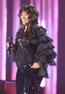Donna Summer - She worked hard for her money!  Another legend lost to cancer :(  5/17/2012