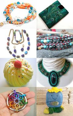 Thursday's Rainbow of Treasures by Sara Goforth on Etsy--Pinned with TreasuryPin.com #TeamUnity