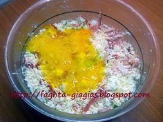 Τα φαγητά της γιαγιάς - Μακαρονόπιτα χωριάτικη Grains, Rice, Food, Essen, Meals, Seeds, Yemek, Laughter, Jim Rice