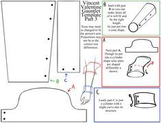 Vincent's Gauntlet Template 3 by RoxasTsuna