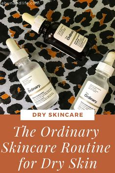 Are you struggling with dry skin concerns? Then you should definitely try The Ordinary Guide for Dry Skin. You might be convinced! #theordinaryskincare #dryskin #skincareroutine #beautyhacks The Ordinary Guide, The Ordinary For Dry Skin, The Ordinary Skincare Guide, The Ordinary Products, Skincare For Oily Skin, Drugstore Skincare, Best Skincare Products, Oily Skin Care, Beauty Products
