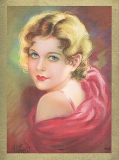 Janet by Irene Patten Pin Up Illustration, Illustration Artists, Vintage Calendar, Artists And Models, Flapper Style, Pin Up Art, Vintage Beauty, Face Art, Art Market