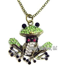 frog jewelry - Google Search