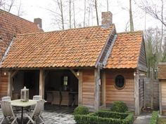 Wood in Style Dream Garden, Home And Garden, Outside Room, Backyard Buildings, Porche, Farm Stay, Timber House, Shed Design, Pool Houses