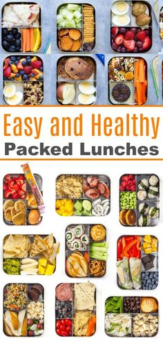 365 Easy lunch ideas, one for every day of the year! Great lunch ideas for kids and work lunch ideas for adults too! 365 Easy lunch ideas, one for every day of the year! Great lunch ideas for kids and work lunch ideas for adults too! Lunch Snacks, Healthy Packed Lunches, Healthy Meal Prep, Clean Eating Snacks, Healthy Drinks, Healthy Recipes, Healthy Lunch Boxes, Drink Recipes, Healthy Foods