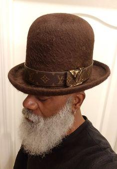 ffe19a99933 OldsCool Rasta    Custom Made 100% Up Town Rockers BEAVER FUR LISA SHUAB  HATTER · Rasta ManBeard No MustacheMoustacheRockersBeard GangFedora HatHats  ...