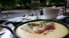 Being and Formulating – Polenta and Eggs Basquaise at Parc