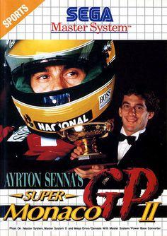 Ayrton Senna's Super Monaco GP II - Master System - Acheter vendre sur Référence Gaming