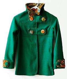 Abbey Jacket PDF Pattern Girls sizes 5-10