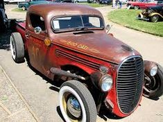 Image result for 39 ford truck rat rod