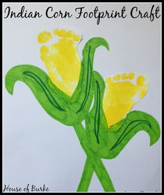 House of Burke: Indian Corn Crafts for Toddlers Farm Animal Crafts, Farm Crafts, Preschool Crafts, Preschool Ideas, Craft Ideas, Toddler Art Projects, Toddler Crafts, Fall Activities For Toddlers, Art Activities