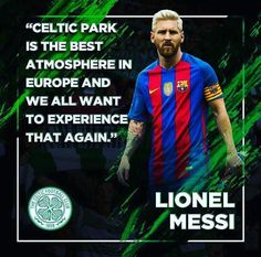 Exceptional words from the Worlds best. Best Football Players, Football Team, Scottish Quotes, Celtic Fc, Athletic Clubs, Glasgow Scotland, Poor Children, Lionel Messi, Football Shirts