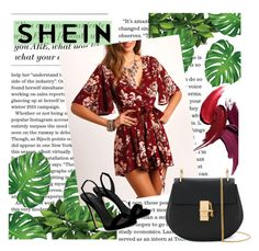 """Shein contst"" by sandralalala ❤ liked on Polyvore featuring Chloé and Giuseppe Zanotti"
