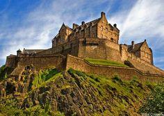 Castillo de Edimburgo (Escocia, Reino Unido)