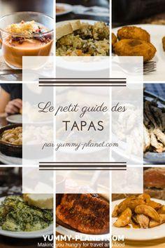 Découvrez des listes de tapas à utiliser lors de votre voyage en Espagne pour savoir quoi commander, y compris des listes de tapas végétariennes et sans gluten.