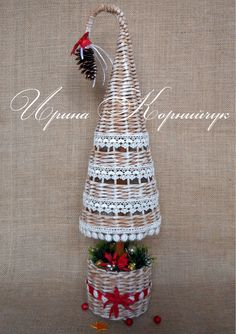Винтажная елочка. Заказы принимаются здесь http://www.livemaster.ru/myshop/irinkamaster