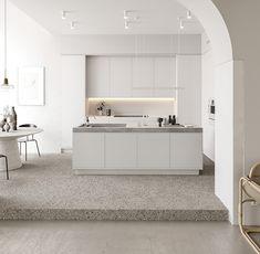 Pale project by Bronxes Studio. visualisation of scandinavian apartment design Minimalist Bathroom, Minimalist Interior, Minimalist Living, Minimalist Decor, Home Design, Interior Design Blogs, Interior Inspiration, Design Design, Layout Design