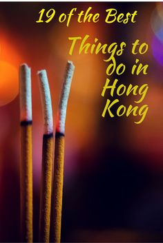 Things to do in Hong Kong Pinterest