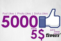 styloxkidx: give 5000 Facebook Post,Photo likes also Free Demo for $5, on fiverr.com
