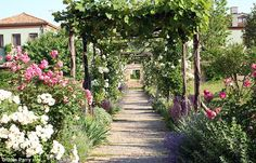 Flower power: The gardens of Il Palladio offer a window on the changing of the seasons in ...