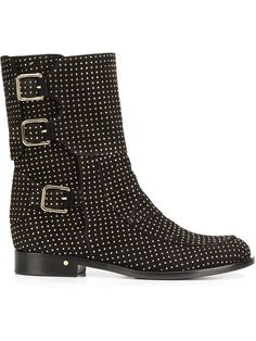 8e7f6a693eb Laurence Dacade 'Rick' Studded Ankle Boots - Farfetch. Studded Ankle BootsThigh  High BootsDesigner BootsThigh HighsBoutiquesStudsShop ...