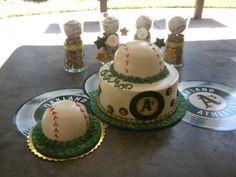 Oakland Athletics birthday cake