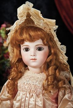 Very Beautiful French Bisque Bebe Brevete by Leon Casimir Bru. Lot # 76.