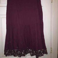 DCC Missy bohemian gypsy long skirt - Mercari: Anyone can buy & sell