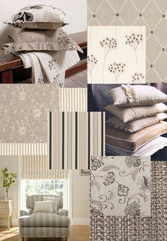Natural linen fabrics