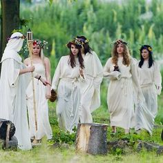 Kupala Night  - The Shortest Night In The Year, Slavic Summer Solstice Festival, Poland