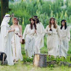 Kupala Night  - The Shortest Night In The Year, Slavic Summer Solstice Festival, Poland