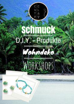 Süßer Schmuck, Wohndeko, D.I.Y. - Produkte und Workshops!