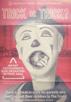 """""""Infant Catcherbots"""" Public Information Poster (1975)"""