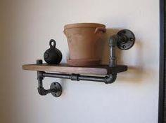 Pipe Shelf.