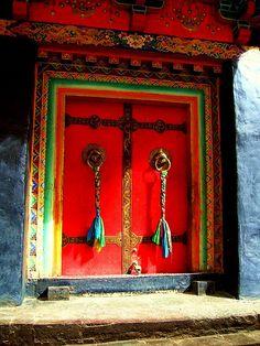 """Tibet - """"Doors of Tibet 1"""""""