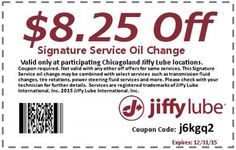 sears oil change coupon may 2015