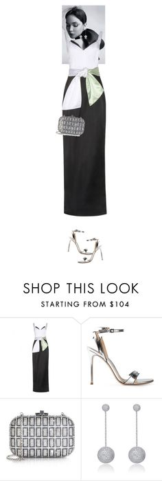 """""""Garnet #5986"""" by canlui ❤ liked on Polyvore featuring Christian Dior, Prabal Gurung, Gianvito Rossi, Judith Leiber, Collette Z, GetTheLook and MetGala"""