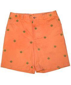These Preppy Marijuana Shorts Are Smokin'