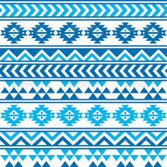 Aztec Tribal Seamless Blue and Navy Pattern  #GraphicRiver         Vector seamless aztec ornament, ethnic background  FEATURES:   100% Vector Shapes  All groups have names  All elements are easy to modify – you can change coulours, size  Pack include version AI, EPS, JPG                      Created: 5 December 13                    Graphics Files Included:   JPG Image #Vector EPS #AI Illustrator                   Layered:   Yes                   Minimum Adobe CS Version:   CS…