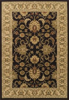 Starting at $79 - Dalyn Wembley WB45 Chocolate Traditional Area Rugs - http://www.boldrugs.com/Dalyn-Wembley-WB45-Chocolate-rugs.html