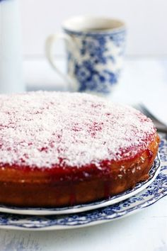 Honey cake recipe with step by step photos. Learn how to bake Indian bakery style honey cake topped with jam with this easy recipe.