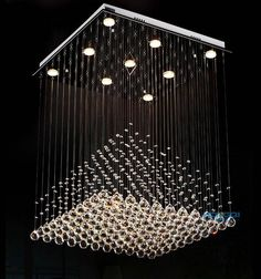 Cheap chandelier light fixture, Buy Quality chandelier lighting directly from China crystal chandeliers lighting fixtures Suppliers: Elegant Luxury K9 crystal square pendant chandeliers lighting fixture with different size  free shipping