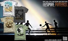 Bola no pé , bola na rede ! Respire futebol http://ubberestudio.com.br/