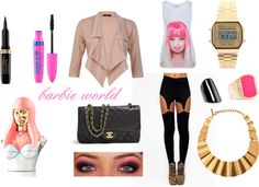 """pink kisses"" by rubyred-22 on Polyvore"