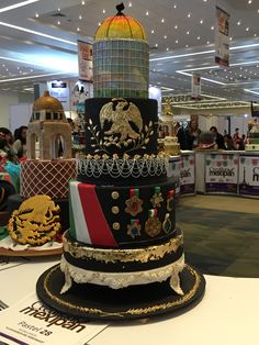 pastel fiestas patrias  PORFIRIATO  mexipan 2016